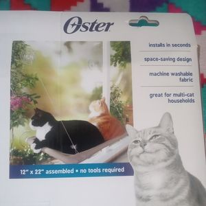 Oster sunny seat window mounted cat bed